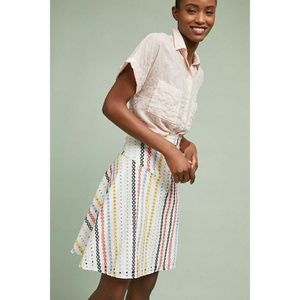 New Anthropologie Abacos A-line Skirt Size 4